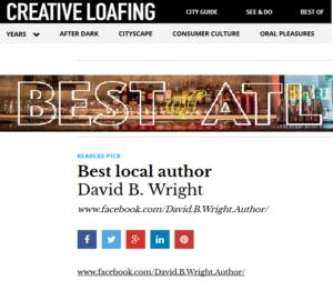 best of atlanta best local author david b. wright creative loafing2016