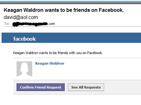 facebook phishing scam example